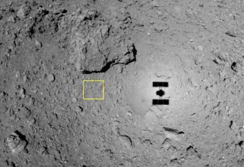 Japan's asteroid probe shot a bullet at a space rock, and it's a very big deal