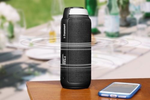 Buy a highly-rated portable Bluetooth speaker on Amazon for $27.01