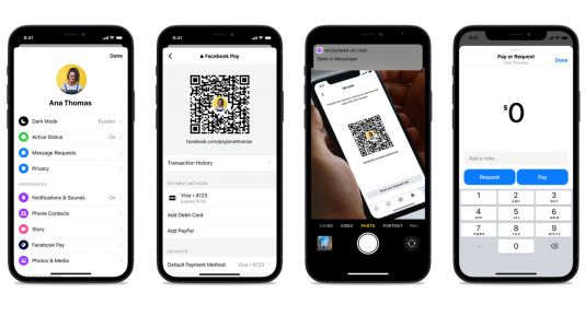 Messenger QR codes remind us that Facebook Pay is still a thing