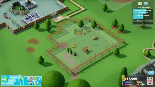 Two Point Hospital for consoles delayed until 2020