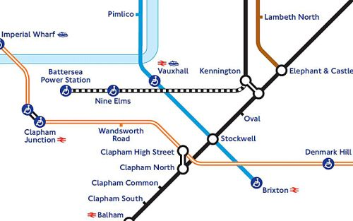 Kennington tube station is changing from a Zone 2 station to a Zone 1/2 station