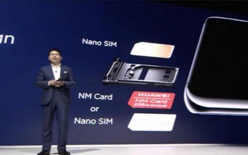 Huawei can no longer make phones with SD card slots
