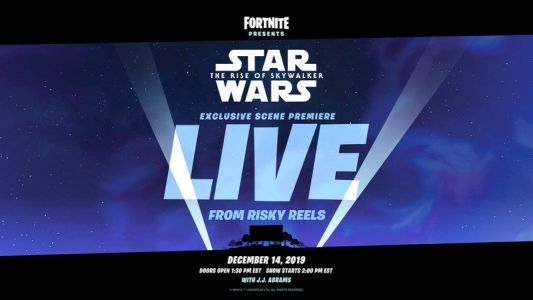 Fortnite to show exclusive footage of Star Wars: The Rise of Skywalker