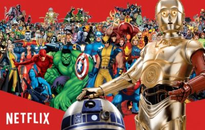 Netflix reportedly hopes to keep Marvel, Star Wars movies - CNET