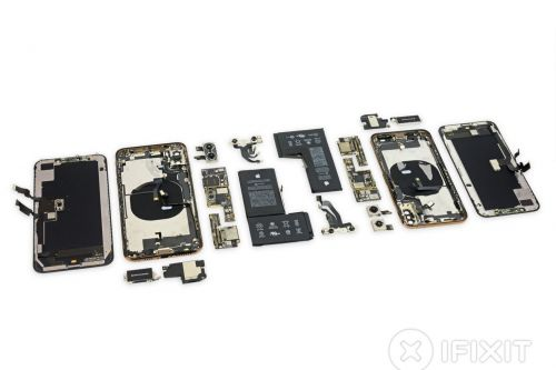 IFixit's iPhone XS and XS Max teardown shows off the revamped batteries