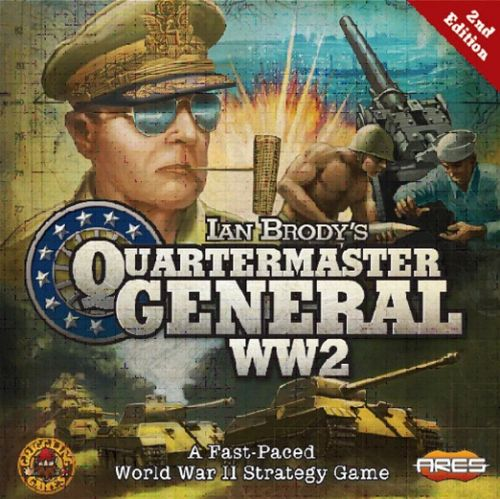 Ares Games Announces Quartermaster General WW2 2nd Edition