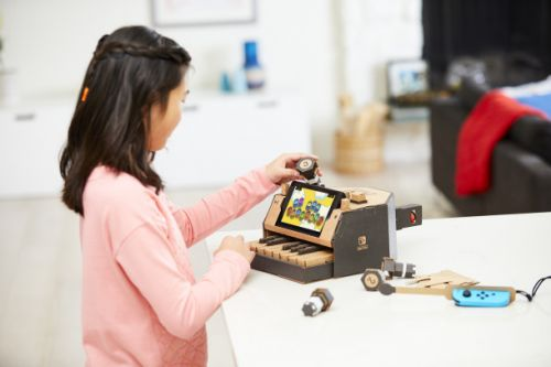 Nintendo Labo lets you use your Switch to bring cardboard toys to life