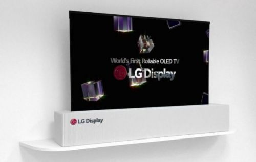 LG rollable 65-inch OLED 4K TV tipped to hit shelves in 2019