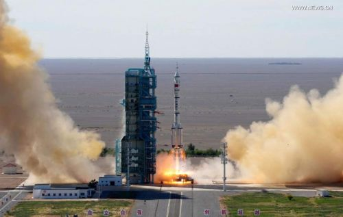 Chinese sends three astronauts to live on the Tianhe space station for 90 days