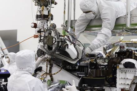 Mars 2020 rover now has a rotating array of drill bits for sampling Martian rock