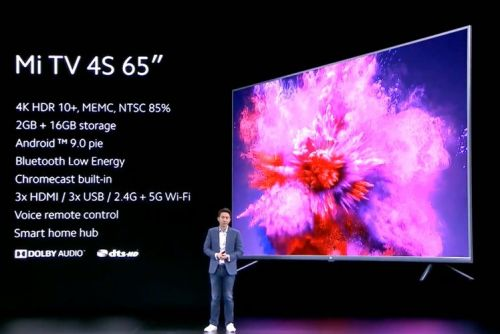 Xiaomi announces the Mi TV 4S 65