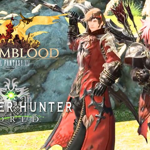 Final Fantasy XIV x Monster Hunter: World Collaboration Launch Trailer