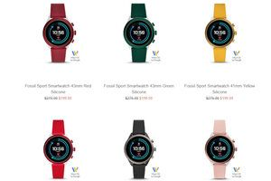 Fossil Sport smartwatch gets new colors and a massive price cut