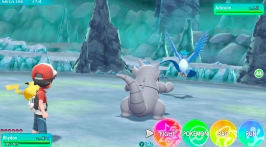 Pokemon: Let's Go, Pikachu And Eevee's Legendary Pokemon Encounters Work A Little Differently