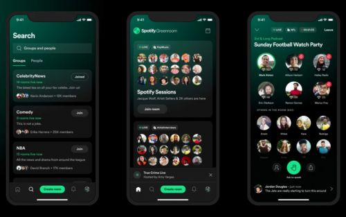 Spotify Greenroom takes on Clubhouse with live streamer payments