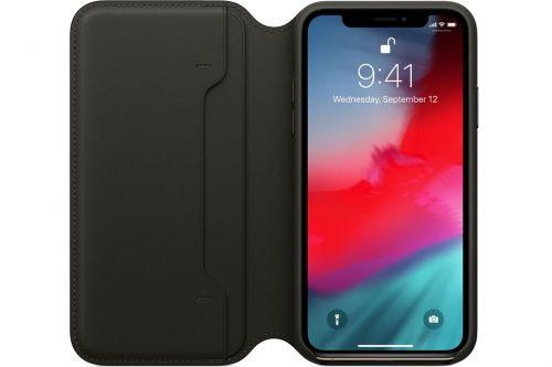 Best Buy is offering Apple's $99 iPhone XS leather folio for $49.99