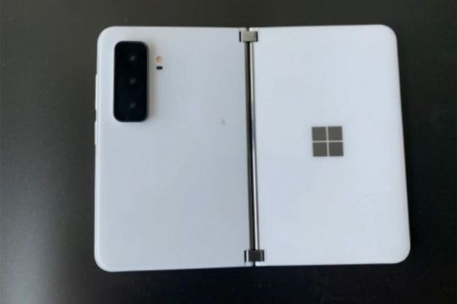 Leaked Surface Duo 2 photos reveal new triple camera system