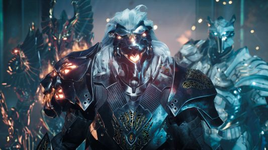 Godfall's first expansion adds more snazzy armour in August