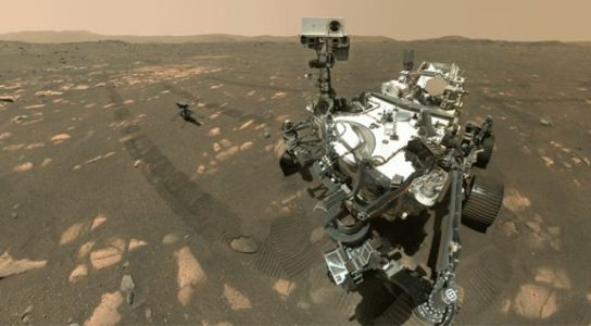 Perseverance Rover Records the Sound of Mars