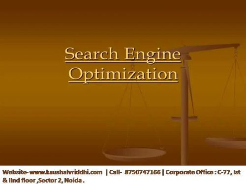 Best SEO Training Institute in Noida Courses-Kaushalvriddhi.com