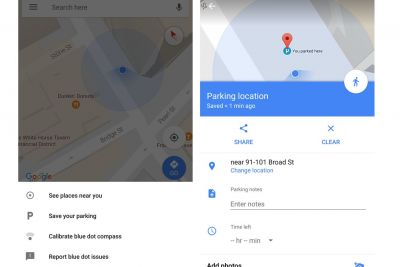 Google Maps is getting useful parking reminders