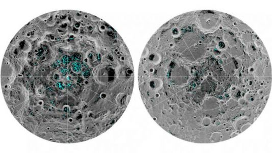 NASA directly observes definitive evidence of water ice on Moon for first time