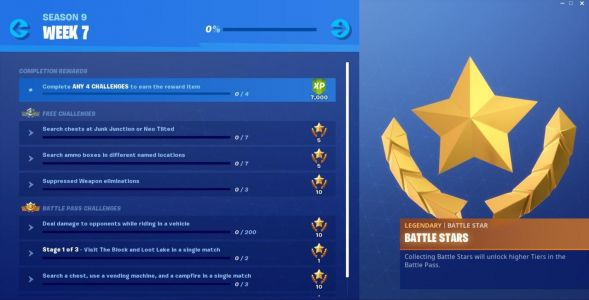 How To Do Fortnite Week 7 Challenges: Search Chests, Damage While Riding Vehicle, And More