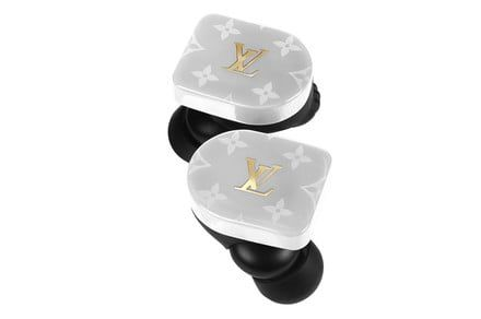 How much are the initials 'LV' worth? $700 if you put them on your earphones