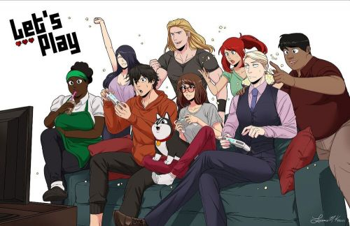 The Fantastic RomCom WEBTOON LET'S PLAY is Being Adapted into a TV Show