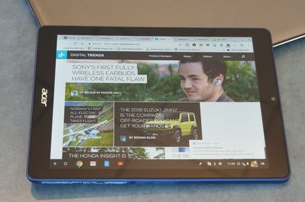 You can use Chrome OS on a tablet, but it's not an iPad competitor yet