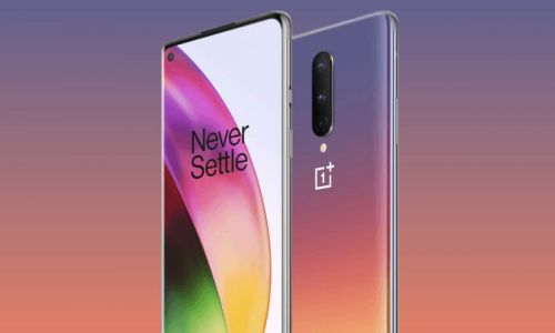OnePlus 8 Interstellar Glow color variant leaks in the wild