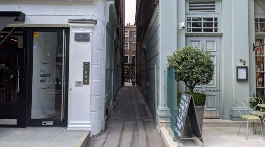 London's Alleys: Percy Passage, W1