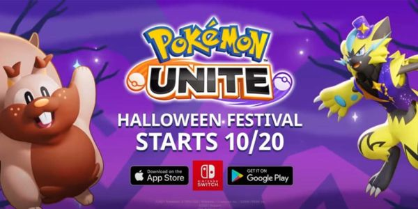 Pokemon UNITE welcomes Greedent into the MOBA as its Halloween event arrives on October 20th