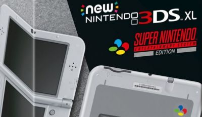 New 3DS XL gets a SNES classic makeover