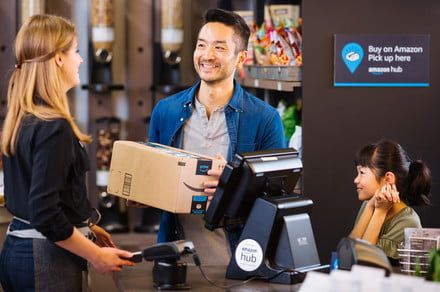 Amazon makes it even easier for you to receive your packages