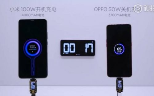 Xiaomi 100W fast charging might actually be ready next month