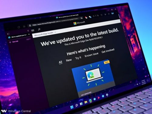 Microsoft Edge 92 is now generally available with new features