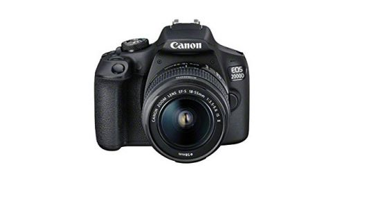 Amazon Prime Day deals: get this Canon EOS 2000D and kit lens for less than £300
