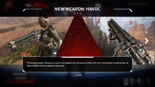 Apex Legends Update Adds Havoc, Its First New Gun-See It In Action