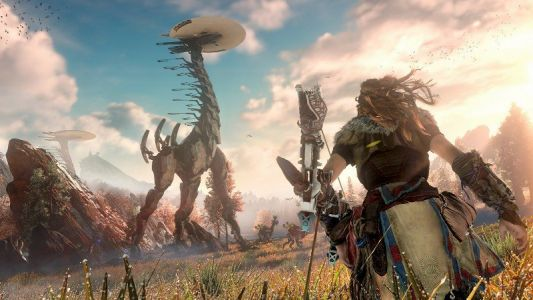 Horizon Zero Dawn PC listing appears on Amazon France