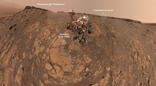 Mars Rover Snaps New Selfie Before Record Climb