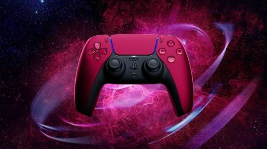 Preorder the Cosmic Red and Midnight Black DualSense controllers today