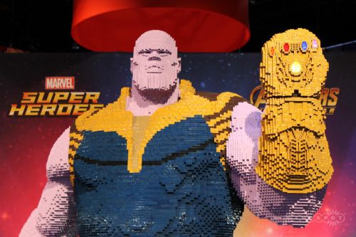 Comic-Con 2018: This Massive Lego Thanos Demands You Bow Before Him
