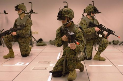 Counter-terrorism police get real training from virtual terrorists