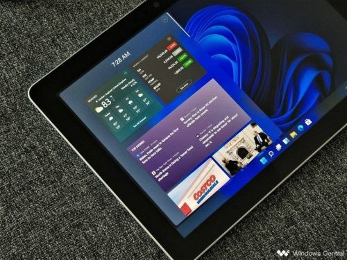 Windows 11 has a new 'Widgets' panel that replaces News & Interests