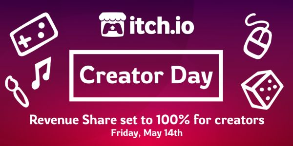 Devs Get 100% Of Revenue On Itch.io Today