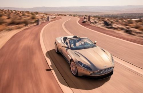 The 2018 Aston Martin DB11 Volante is pure convertible beauty