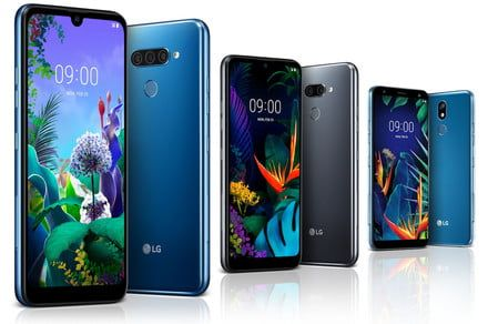 LG starts MWC 2019 early with the new Q60, K50, and K40 phones