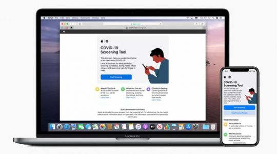 Apple taps CDC to launch COVID-19 screening website and app