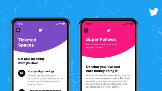 Twitter starts testing Super Follows and Ticketed Spaces